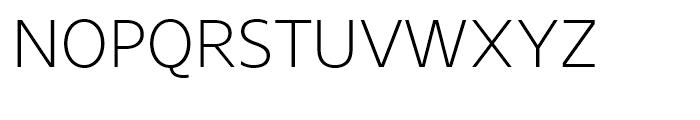 Core Sans Light Font UPPERCASE