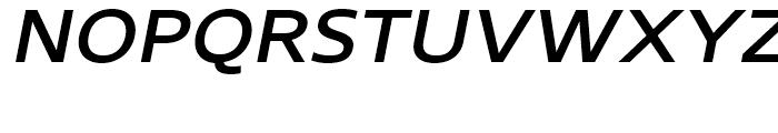 Core Sans N 53 ExtraMedium Italic Font UPPERCASE