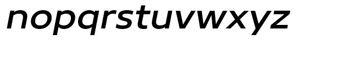 Core Sans N 53 ExtraMedium Italic Font LOWERCASE