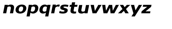Core Sans N 73 ExtraExtraBold Italic Font LOWERCASE