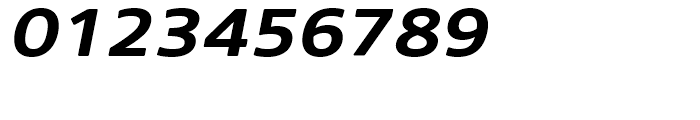 Core Sans N Rounded 63 ExtraBold Italic Font OTHER CHARS