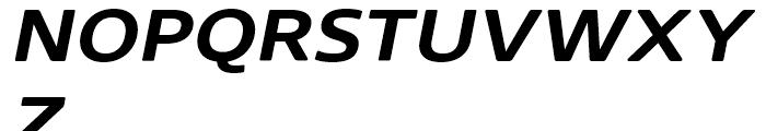 Core Sans N Rounded 63 ExtraBold Italic Font UPPERCASE