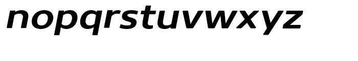 Core Sans N Rounded 63 ExtraBold Italic Font LOWERCASE
