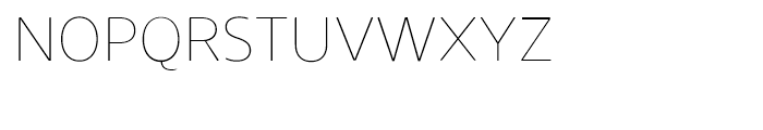 Core Sans N Rounded SC 15 Thin Font LOWERCASE
