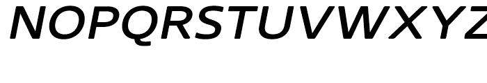 Core Sans N Rounded SC 53 ExtraMedium Italic Font UPPERCASE