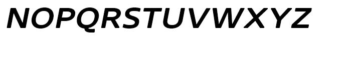 Core Sans N Rounded SC 53 ExtraMedium Italic Font LOWERCASE