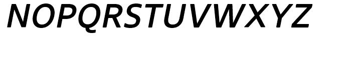 Core Sans N Rounded SC 55 Medium Italic Font UPPERCASE