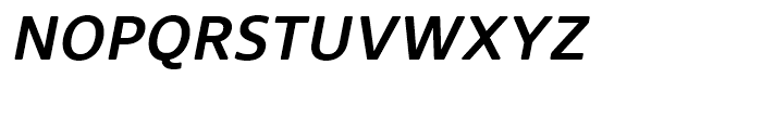 Core Sans N Rounded SC 55 Medium Italic Font LOWERCASE