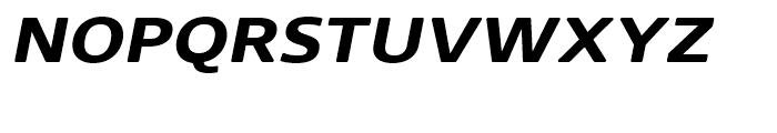 Core Sans N Rounded SC 63 ExtraBold Italic Font LOWERCASE