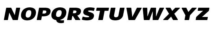 Core Sans N Rounded SC 83 ExtraHeavy Italic Font LOWERCASE