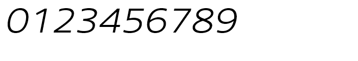 Core Sans N SC 33 ExtraLight Italic Font OTHER CHARS