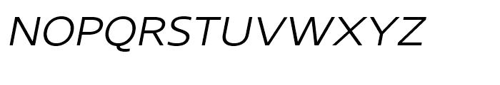 Core Sans N SC 33 ExtraLight Italic Font LOWERCASE