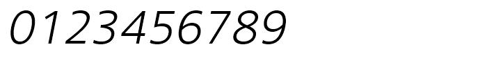 Core Sans N SC 35 Light Italic Font OTHER CHARS