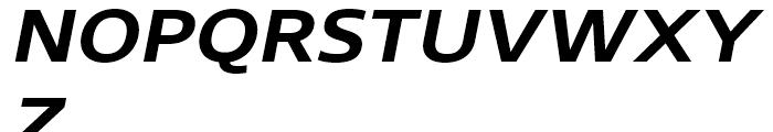 Core Sans N SC 63 ExtraBold Italic Font UPPERCASE
