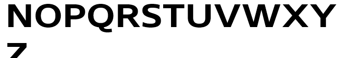 Core Sans N SC 63 ExtraBold Font UPPERCASE