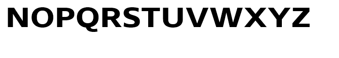 Core Sans N SC 63 ExtraBold Font LOWERCASE