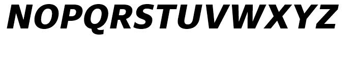 Core Sans N SC 75 ExtraBold Italic Font UPPERCASE