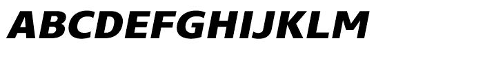 Core Sans N SC 75 ExtraBold Italic Font LOWERCASE