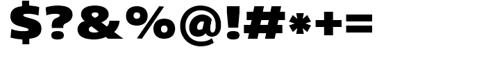 Core Sans N SC 93 ExtraBlack Font OTHER CHARS