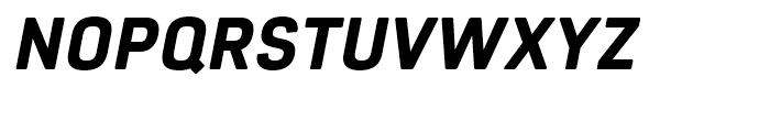 Core Sans R 65 Heavy Italic Font UPPERCASE
