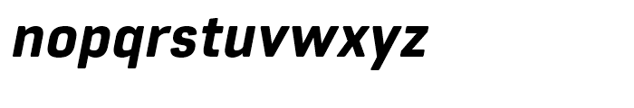 Core Sans R 65 Heavy Italic Font LOWERCASE