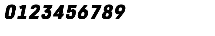 Core Sans R 75 Black Italic Font OTHER CHARS