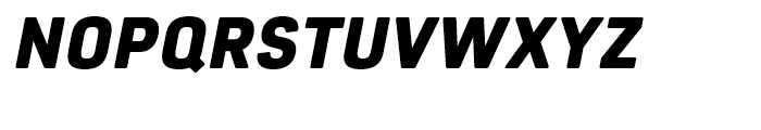 Core Sans R 75 Black Italic Font UPPERCASE