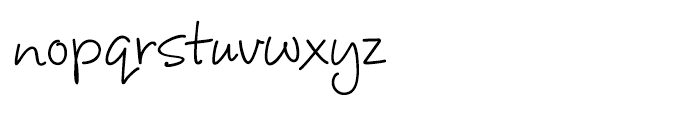 Corky Regular Font LOWERCASE