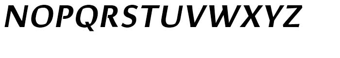 Corpo Sans SemiBold Italic Font UPPERCASE