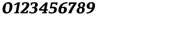 Corpo Serif Bold Italic Font OTHER CHARS