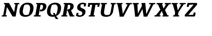 Corpo Serif Bold Italic Font UPPERCASE