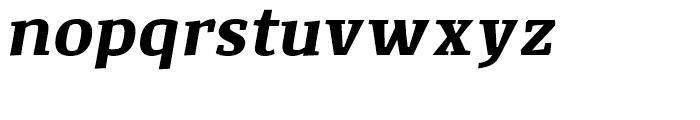 Corpo Serif Bold Italic Font LOWERCASE