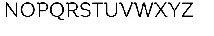 Corporative Regular Font UPPERCASE