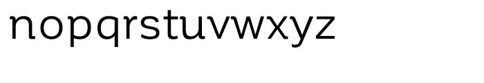 Corporative Regular Font LOWERCASE