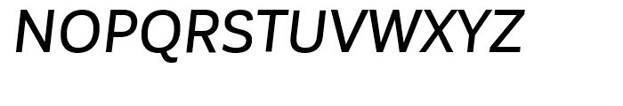 Corporative Sans Alt Medium Italic Font UPPERCASE