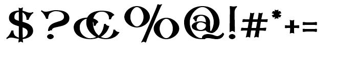 Corsham Black Font OTHER CHARS