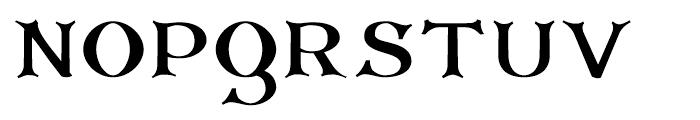 Corsham Black Font UPPERCASE