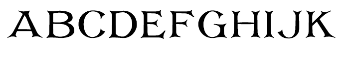 Corsham Regular Font UPPERCASE