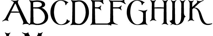 Corton Titular Bold Font UPPERCASE