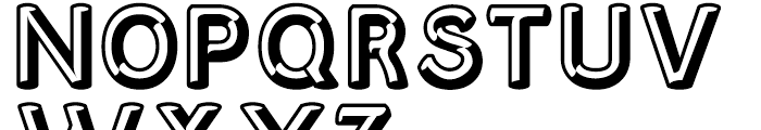 Corvone Regular Font UPPERCASE
