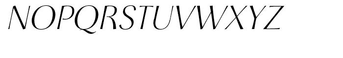 Cotoris Italic Font UPPERCASE