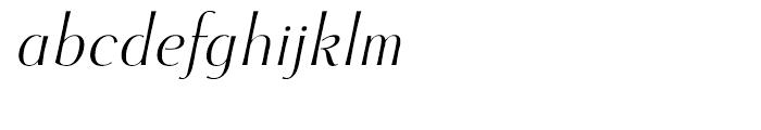 Cotoris Italic Font LOWERCASE