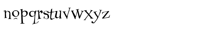 Couchlover Regular Font LOWERCASE