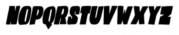 Codswallop Extra-condensed Italic Font UPPERCASE