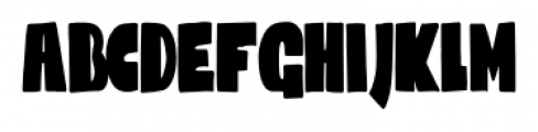 Codswallop Extra-condensed Font LOWERCASE