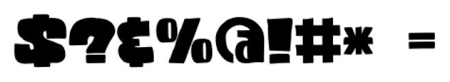Codswallop Regular Font OTHER CHARS