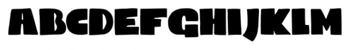 Codswallop Regular Font LOWERCASE