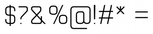 Cogan Straight Light Font OTHER CHARS