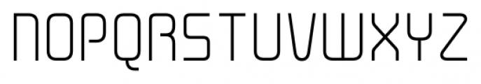 Cogan Straight Light Font UPPERCASE