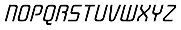 Cogan Straight Oblique Font UPPERCASE